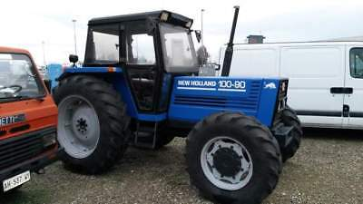 Fiat 100/90 dt trattore agricolo