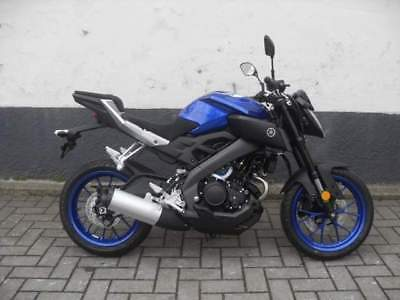 Yamaha mt 125 naked