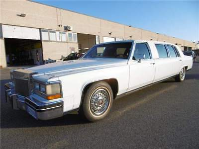 Cadillac fleetwood brougham limousine