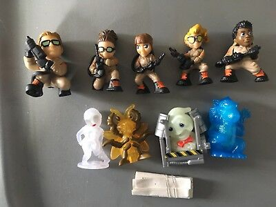 9 Ghostbusters Ecto Minis Mannequin Patty Rowan Erin Abby Holtz Kevin Rat Lot B