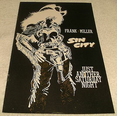 Dark Horse Comics Sin City Just Another Saturday Night Vf-/vf