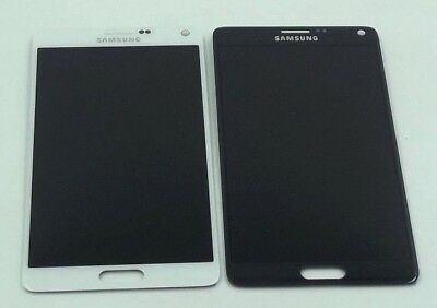 New Samsumg Galaxy Note 4 Black/White LCD Display + Touch Screen Digitizer