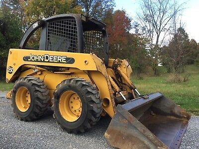 John Deere 250  Skid Steer Loader Skidloader Diesel Cheap Shipping Rates