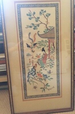 Chinese Silk Embroidery Vintage