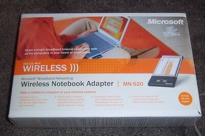 Microsoft broadband networking wireless usb adapter mn-510 windows.