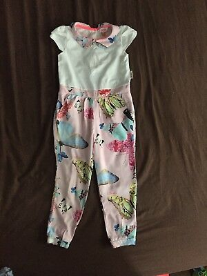 Baby Girl Ted Baker Jump Suit Size2To3Years