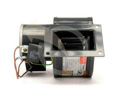 DAYTON 1TDP7 PSC Blower, Draft Fan, 115 Volt, 146 CFM (4C446, 4C005) Fasco A166