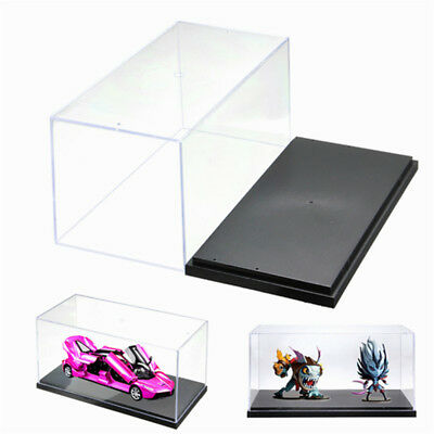 Clear Acrylic Plastic Display Box Case Protector Toys Dustproof