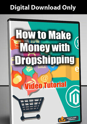How to make Money with Dropshipping - Video Tutorial Digital Download
