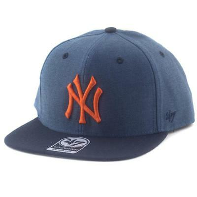 New York Yankees Double Move Captain Supporters Hat MLB Cap From 47 Brand