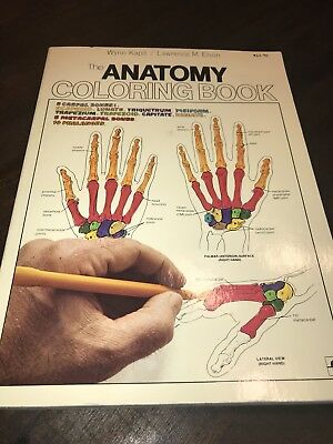The Anatomy Coloring Book By Lawrence M Elson And Wynn Kapit 1977 Paperback