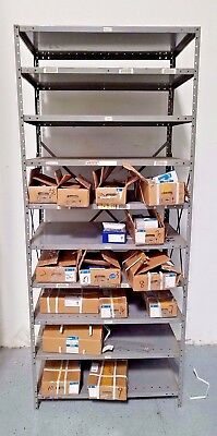 Heavy Duty Metal Rack Shelving Garage/Warehouse Storage Organizers (Lot of 222)