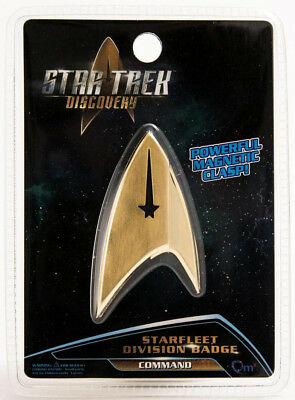 Star Trek Discovery Insignia Badge Command  - BRAND NEW