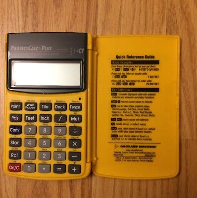 Calculated Industries ProjectCalc Plus Project Calculator Construction M - 8525