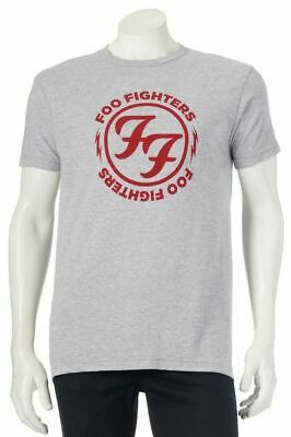 781c4131599 FOO FIGHTERS CIRCLE LOGO T-Shirt Dave Grohl NEW XS-2XL 100% Authentic