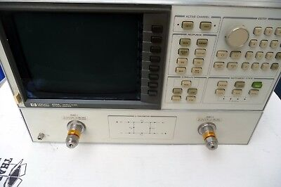 HP 8720A  130mhz to 20ghz  NETWORK ANALYZER  with new LCD display