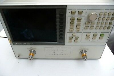 HP 8720A  130mhz to 20ghz  NETWORK ANALYZER
