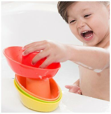 Nuby 5-Pack Stacking Bath Boats