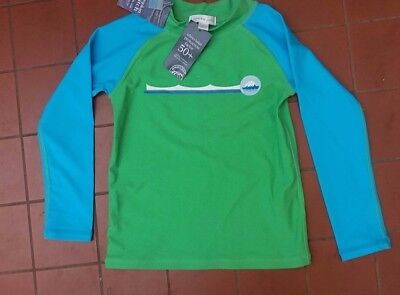 PUMPKIN PATCH  Boys Girls Long Sleeve Rash Vest Top Size 4 New with Tags