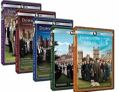 Downton Abbey - Complete Series Seasons 1-5 TV Collection (DVD, 15-Disc, 2015)