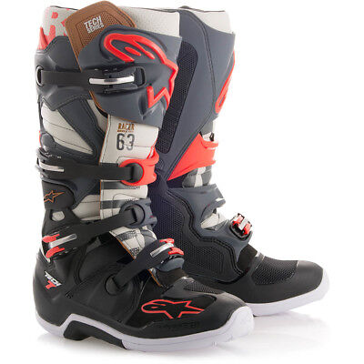 Alpinestars NEW Mx 2018 Tech 7 LE Black Jack MEC Motocross Dirt Bike Boots