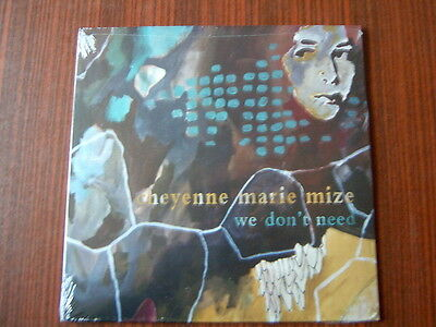 Cheyenne Marie Mize  10 Vinyl EP- We Don´t Need NEW-OVP