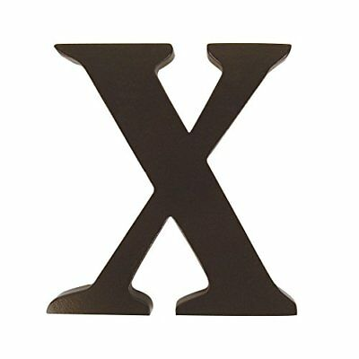 "Trend Lab Brown 6"" Tall Letter Letter X"