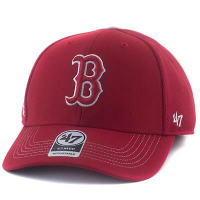 Boston Red Sox MLB Supporters Hat Regulation MVP Cap From 47 Brand In Red