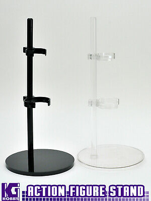 1//6 1:6 Scale Action Figure Stand Acrylic Organo Glass Display