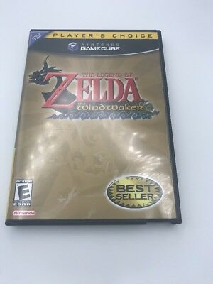 Legend of Zelda: The Wind Waker Nintendo GameCube Complete in Box Tested Working