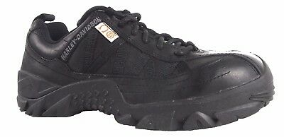 Harley Davidson D10972 Steel Toe Leather Safety Shoes--8US