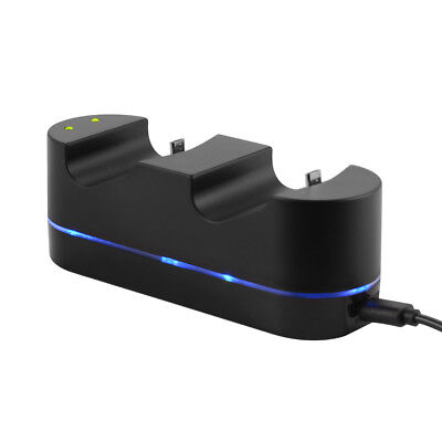 Controller Dual USB Charging Dock Stand Fast Charger for Playstation PS4 AC928