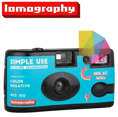 Lomography Color 400 ISO 36exp 35mm Disposable Single SIMPLE USE Film Camera