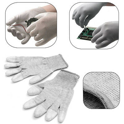 Anti Static Antiskid Glove PC Computer Repair ESD Electronic Labor Worker