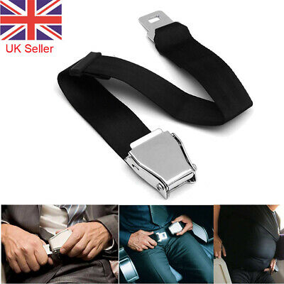 Adjustable Airplane Seat Belt Extension Extender Airline / Buckle Aircraft Safe