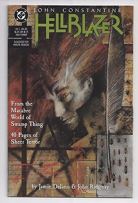 Hellblazer #1 John Constantine DC Comics January 1988 HIGH GRADE