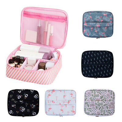 Beauty Makeup Bag Cosmetic Storage Case Toiletry Organizer With Divider