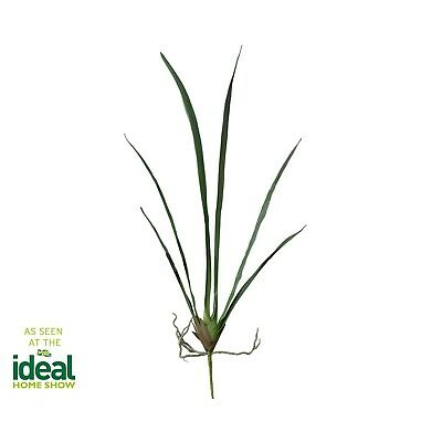 Artificial Single Flower Plant Stem Cymbidium Leaf Spike Large Buds Fake Realist