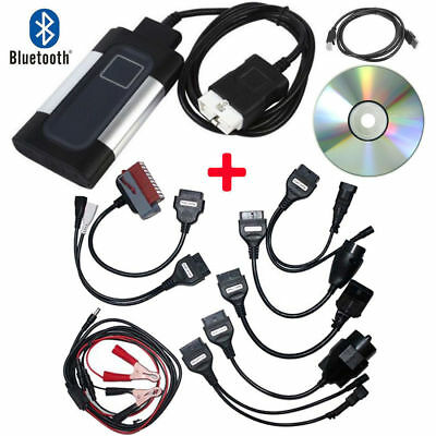 Bluetooth TCS CDP Pro Plus for autocom OBD2 Diagnostic Tool+8 Car Cables