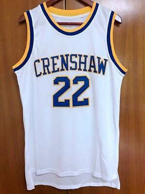 1645e49974ee Quincy McCall  22 Crenshaw High School Basketball Jersey Movie Love S-3XL