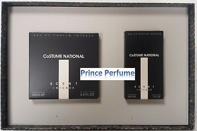 COSTUME NATIONAL SCENT INTENSE EDP SPRAY 100 ml + EDP SPRAY 30 ml