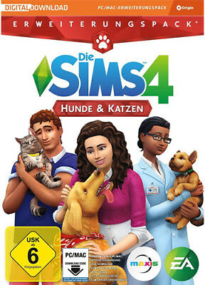 Die Sims 4 Hunde & Katzen / Cats and Dogs Addon EA Orign CD Key Download Code