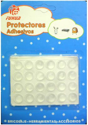 Self Adhesive Rubber Stopper Dots Protect Furniture Surface Transparent Scratche