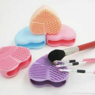 UK Makeup Brush Cleaner Egg Glove Scrubber Cosmetic Cleaning Silicone Foundation