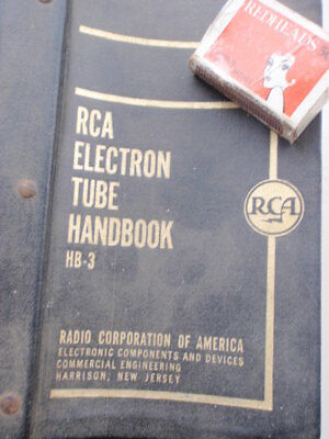 RCA Electron Tube Hand Book  Ex  A.I.F  Library
