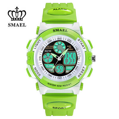 SMAEL Kids Watch Boys Girls Digital Watches Fashion Sport Electronic Wristwatch