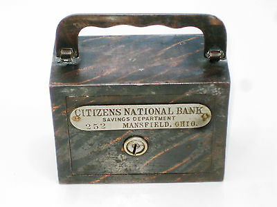 Mansfield, Ohio, #2577, The Citizens National Bank, Early Still Bank,100+ y/o!