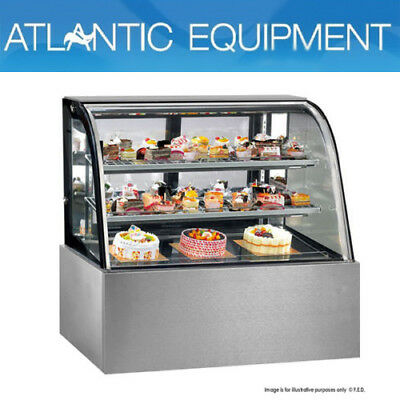 Cake Display Chilled Display Cabinet Cg150Fa-2Xb