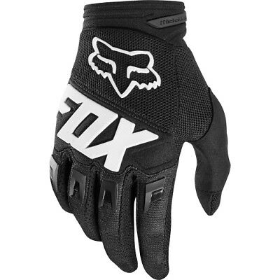 FOX DIRTPAW RACE MX Motocross Cross DH Downhill MTB BMX Handschuhe 2018 black
