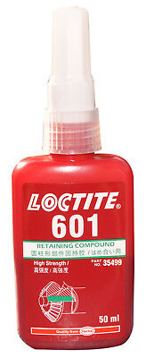 LOCTITE 601  High strength 50ML - RETAINING COMPOUND with medium cure B/B 5/19